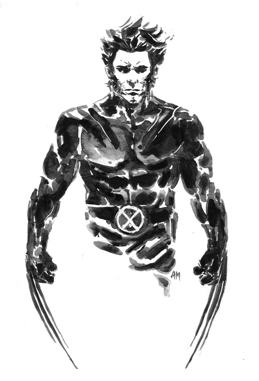 Logan the X-Man by aaronminier