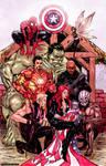 Avengers Nativity