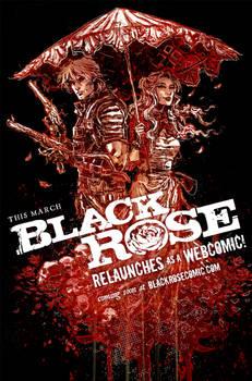 BLACK ROSE WEBCOMIC RELAUNCH