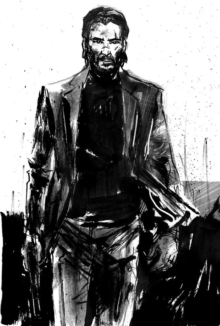 John Wick by aaronminier