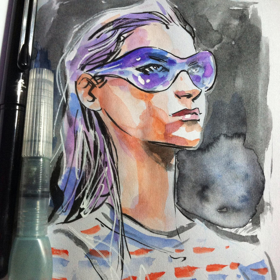 Purple Shades by aaronminier
