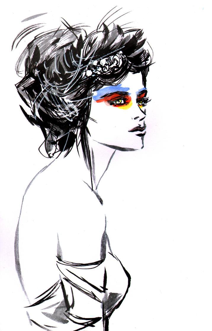 Eyeshadow by aaronminier