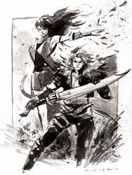 Final Fantasy 8 : Inktober 19, 2016