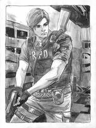 Leon Kennedy RE2 Remake Commission