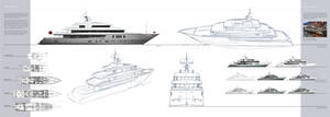 Yacht exterior design