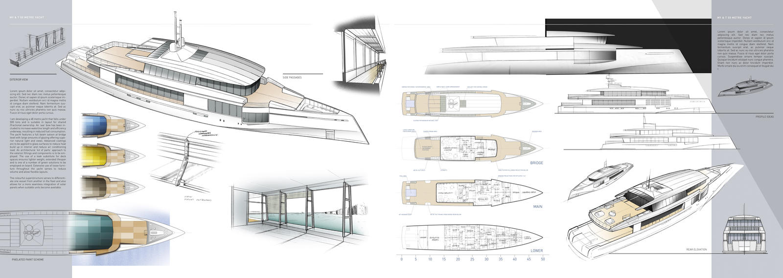 Art Line Yacht Interior Design : M yacht design by dreadwardo on deviantart