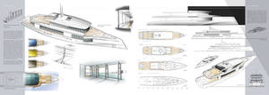 50m Yacht design