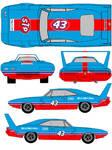 1984 richard petty superbird