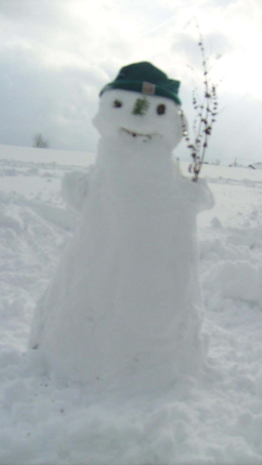 Ingelines snow man by ingeline-art