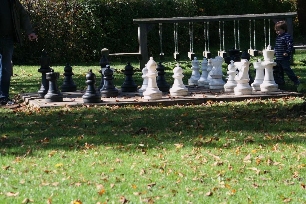 games in park by ingeline-art