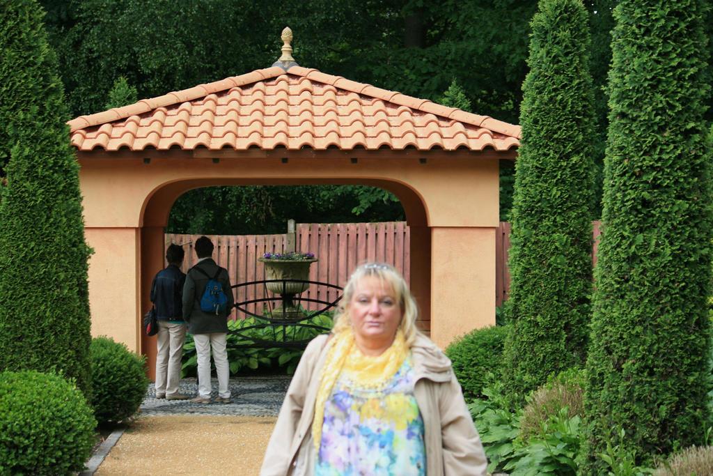Ingeline in italian garden by ingeline-art