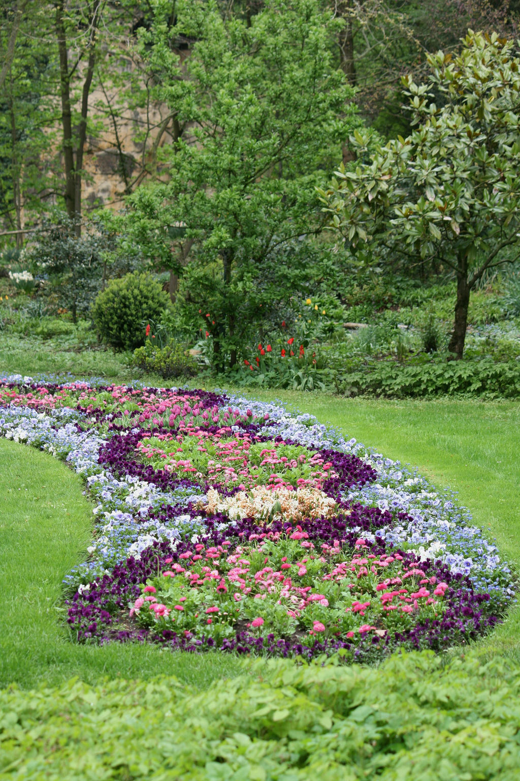 Bloomin In Baroque Garden Ludwigsburg 2 By Ingeline Art On