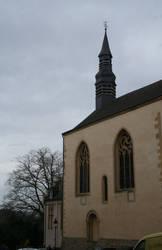church in Luxemburg city by ingeline-art