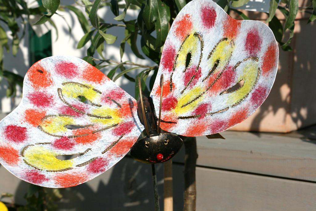 butterfly from metal by ingeline-art