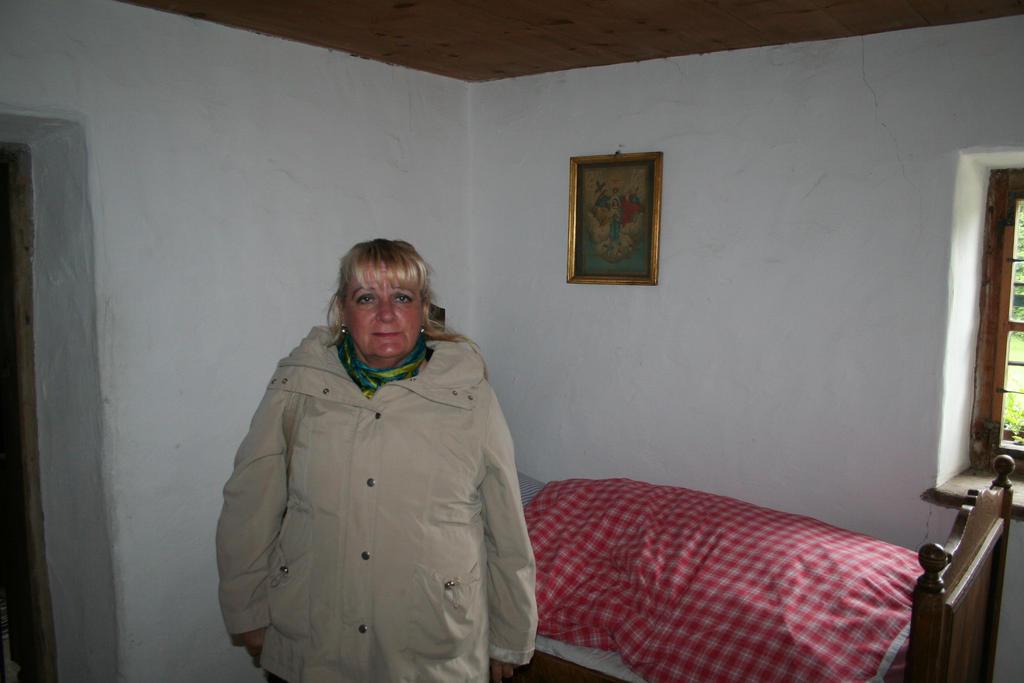 Ingeline in old house inside by ingeline-art