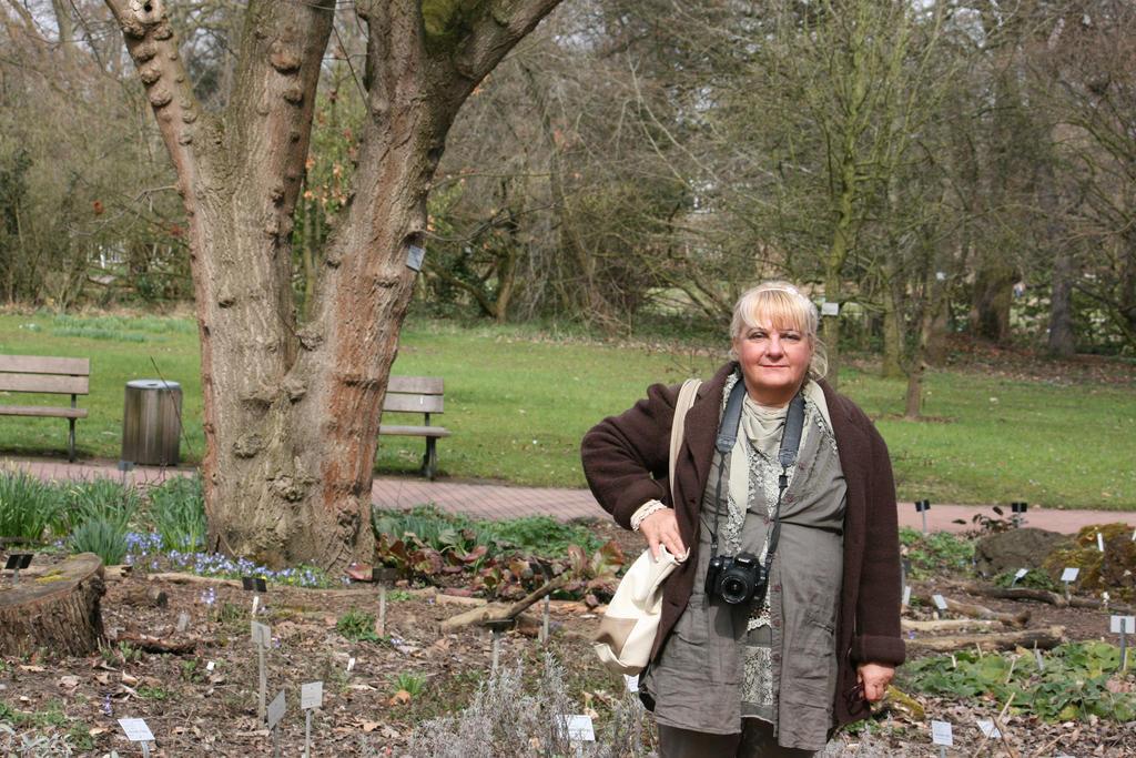 A walk in flora garden cologne by ingeline-art