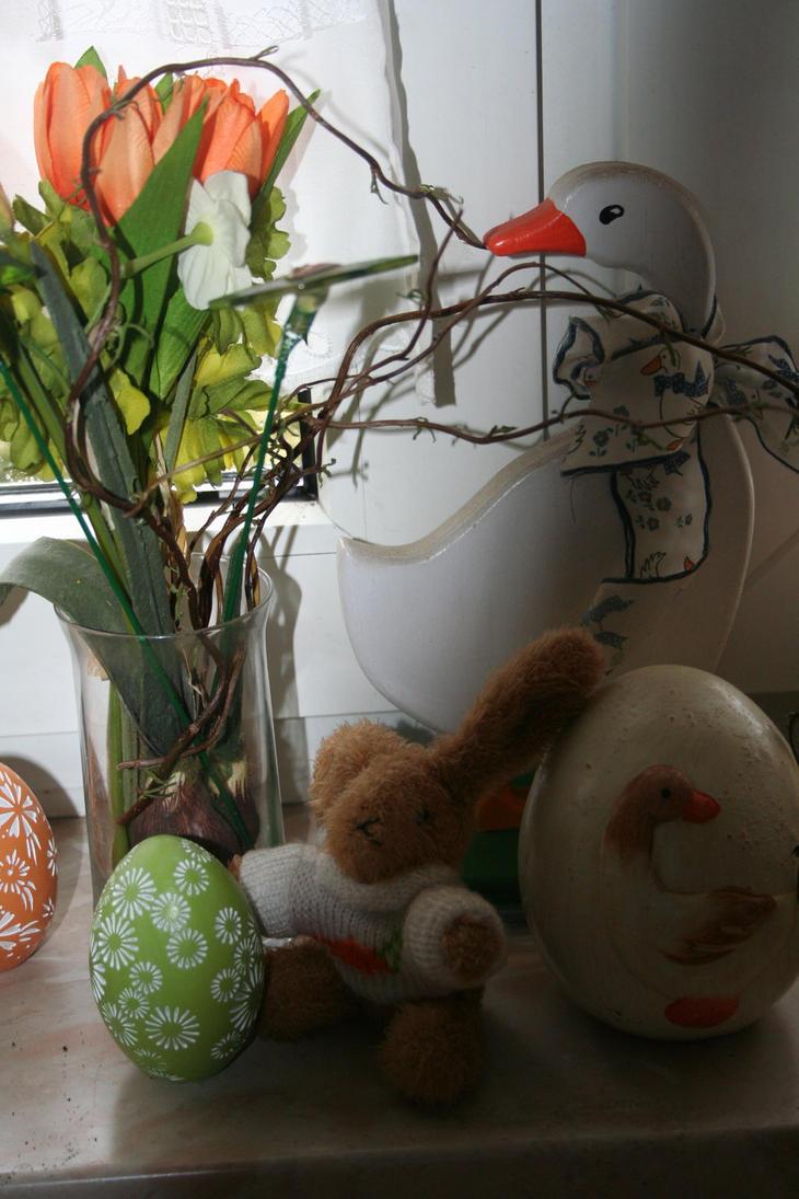 spring and eastergreetings by ingeline-art