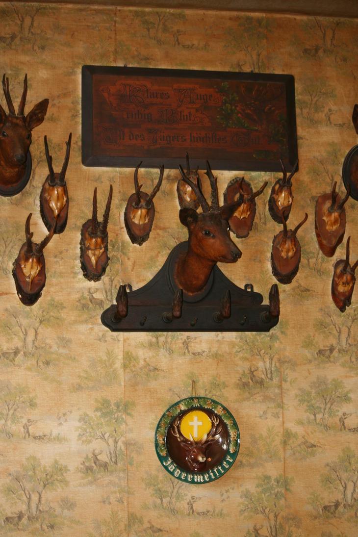 view in old restaurant by ingeline-art