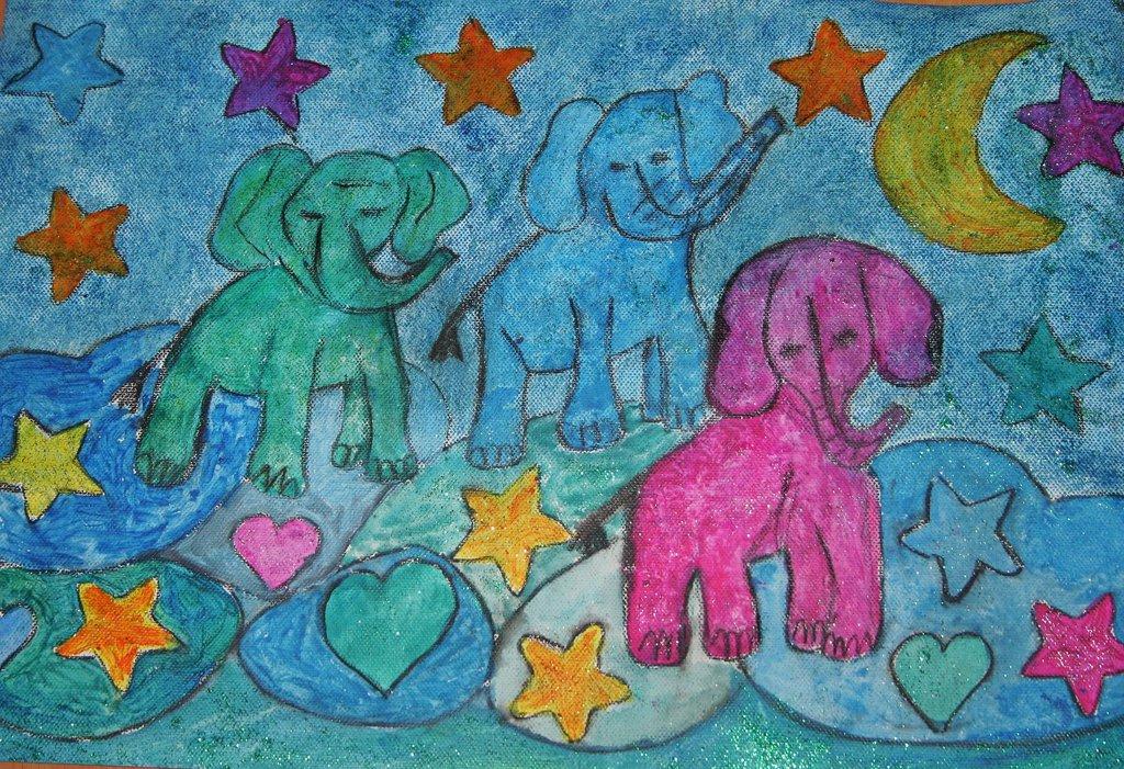 elephants of luck