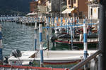 view in harbour Monte Isola