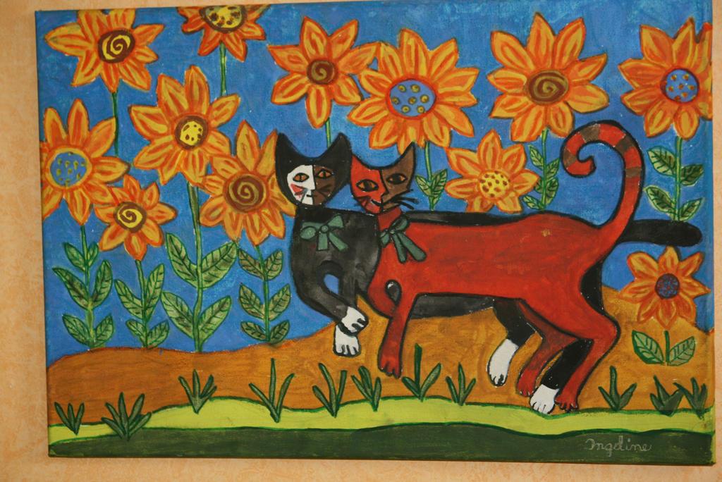 sunshine cats by ingeline-art