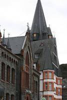 view in Bernkastel-Kues by ingeline-art