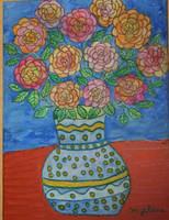 birthday flowers by ingeline-art