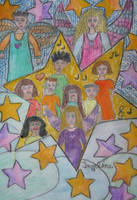 singing like angels by ingeline-art
