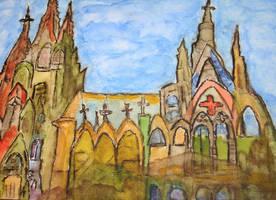 church in darknes by ingeline-art