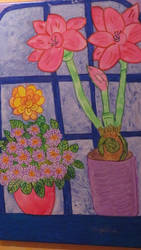spring at my window by ingeline-art