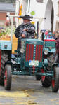 old tractor at harvest festival 3