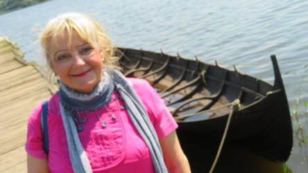 Ingeline and the viking boat