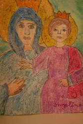 Mother Mary And The Jesus Child