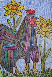 Shining Rooster