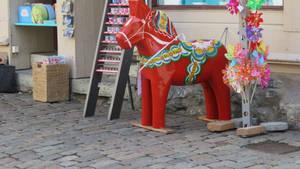Dala horse in Trollhaettan