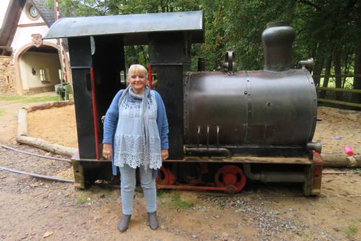 Ingeline and the locomotive