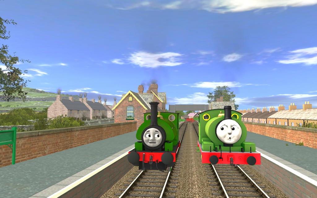RWS vs CGI: Percy by MarcoE424