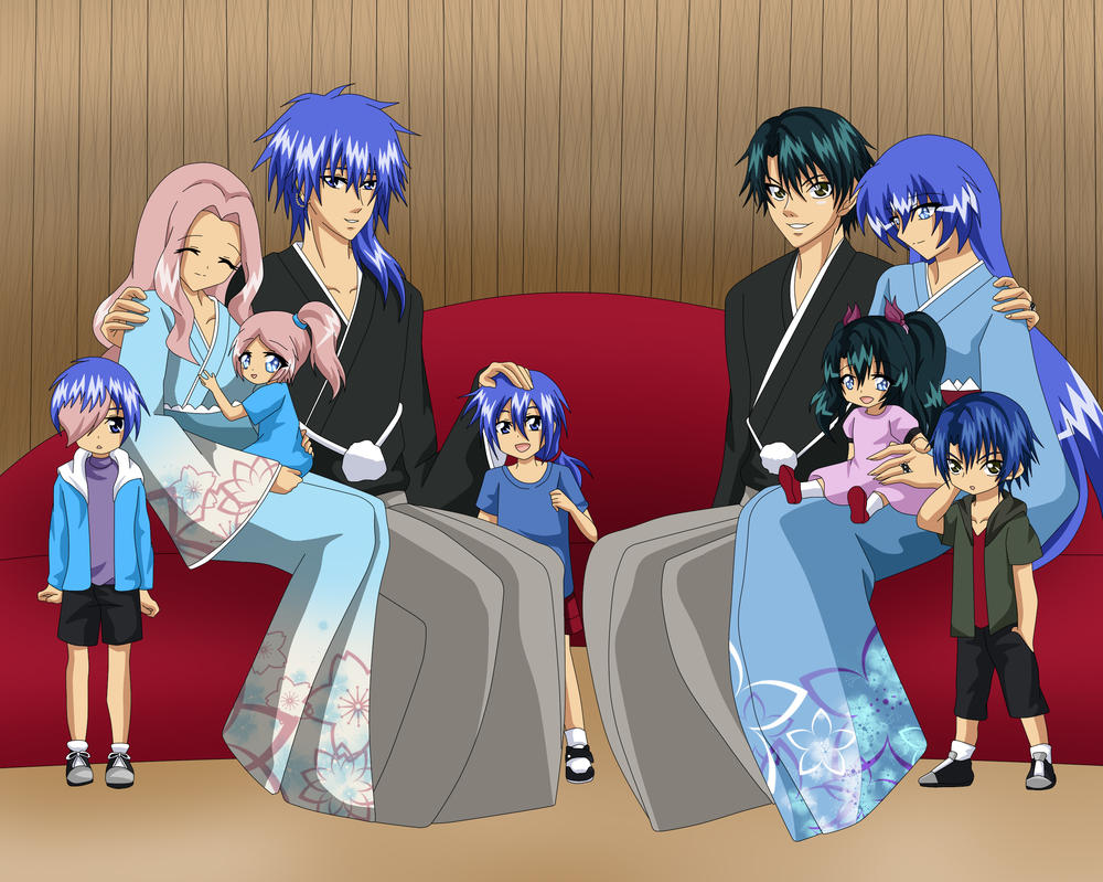 Family Portrait by Echizen-Momoko
