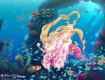Pink Pearl Mermaid Princess Nanami Luchia