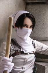 SNK - Captain Cleanfreak by Bitenshi