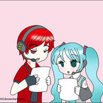 Sing a song GIF by Kari-Usagi