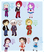 I love my Powers by Kari-Usagi