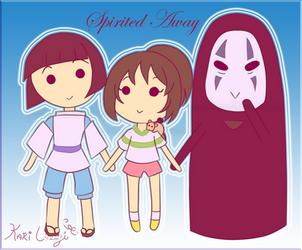 Spirited Away by Kari-Usagi