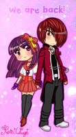 We are Back: Iori and Athena