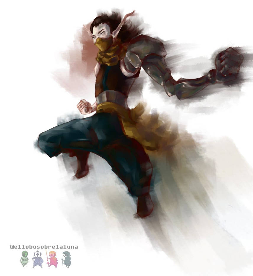Cyborg elf by ELSLL