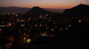 Plovdiv at Nightfall
