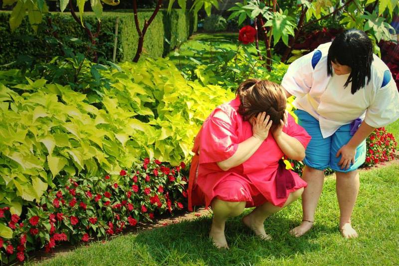 .SpA. Chihiro and Haku 1 by MasonManiac