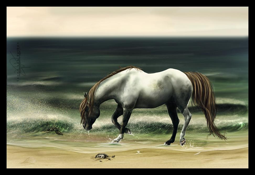 Through dying eyes. by Esveeka