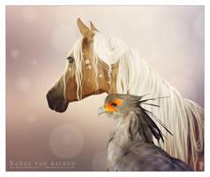 Phaedra and Stella by Esveeka