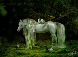 Forest Child by Esveeka